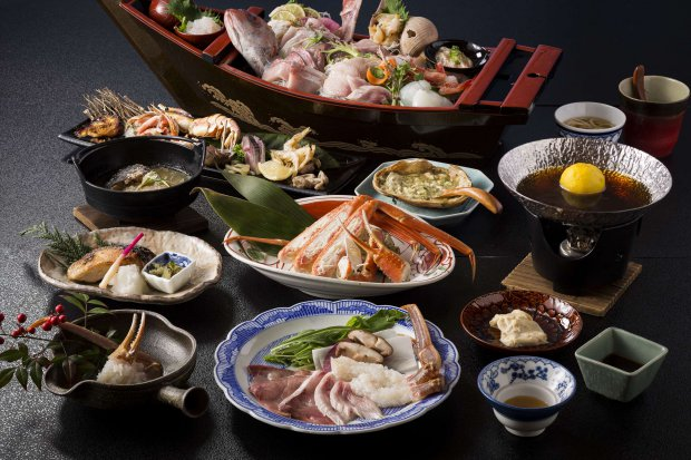 Special winter KAISEKI course (winter only)